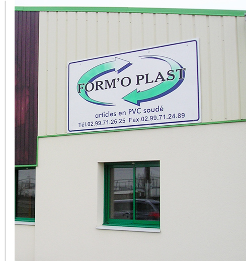 Contact - Locaux FORM'O PLAST