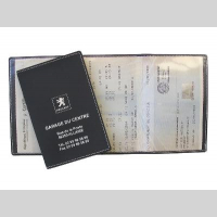 form 39 o plast porte carte grise porte papiers sant registre et classeur de condol ances. Black Bedroom Furniture Sets. Home Design Ideas